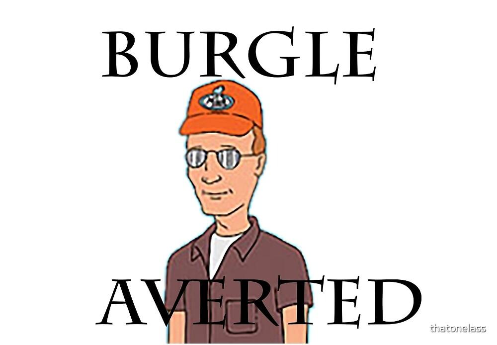 Burgle Averted by thatonelass