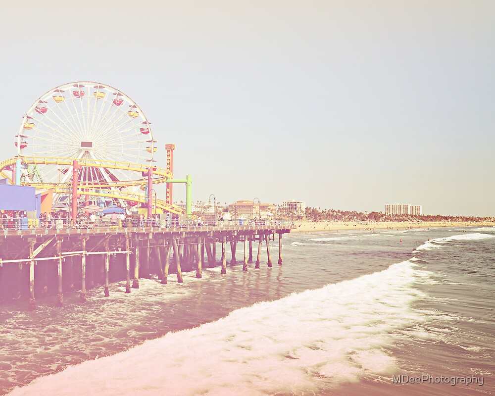 Santa Monica Pier by MDeePhotography