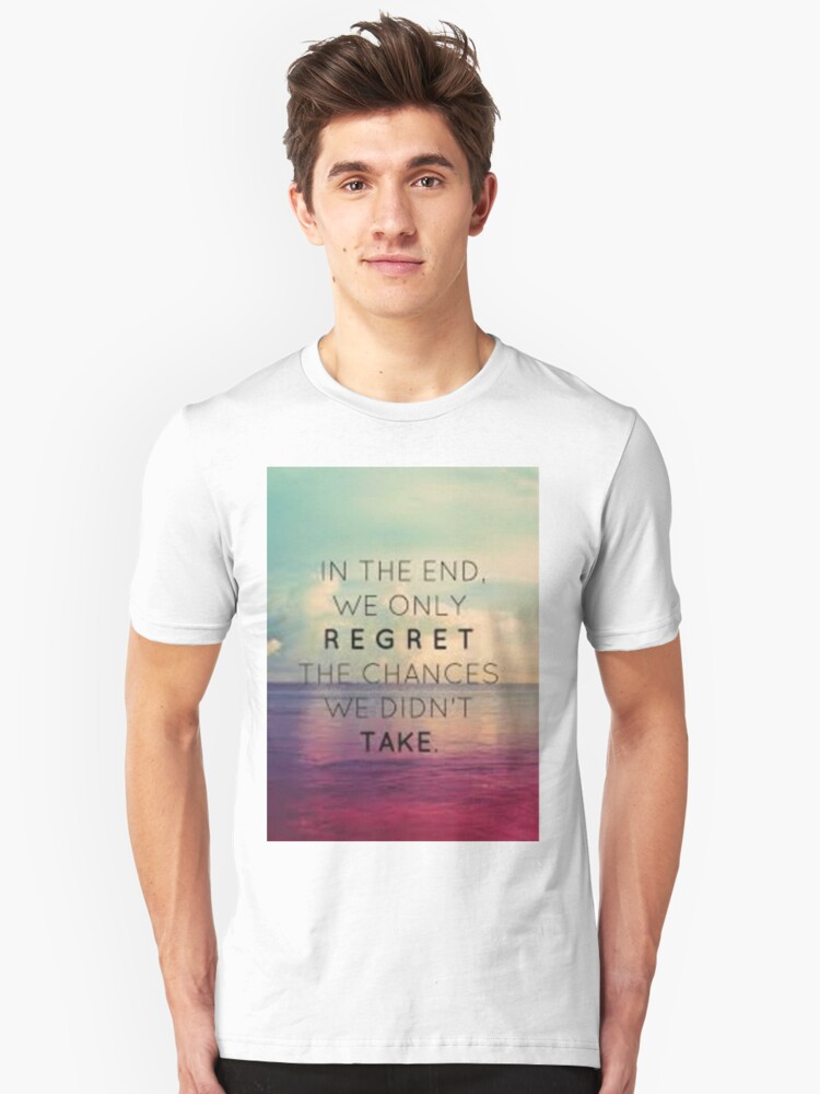 In the end Unisex T-Shirt Front