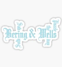 Bering & Wells - Solving Puzzles, Saving The Day Sticker