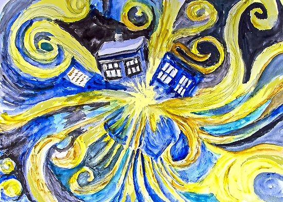 Dr Who by Barbara Cliff