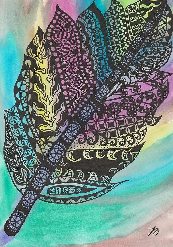 Feather Zen by MissTariana