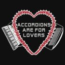 accordions are for lovers for dark colors! by juliethebruce