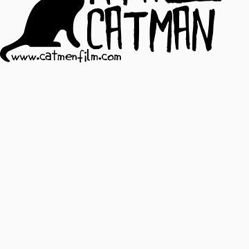 I'm A Catman - Black Shirt by catmenfilm