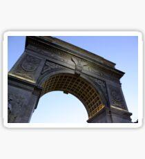 Arch in Washington Square Park Sticker