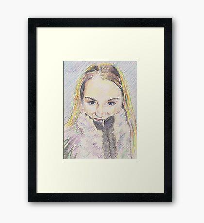 """Melissa"" Framed Print"