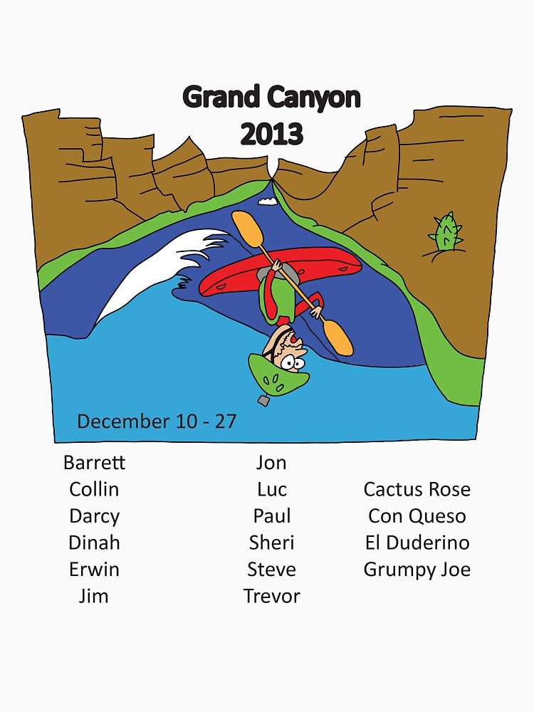 Grand Canyon 2013 with names by dinahmite