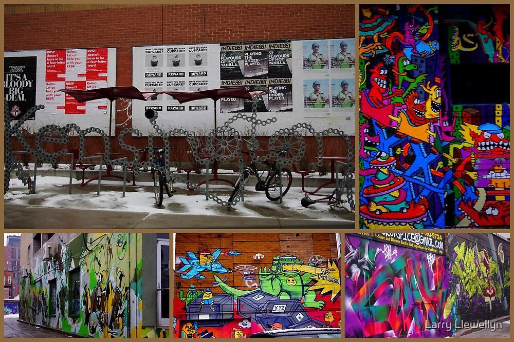 Canadian Graffiti by Larry Llewellyn