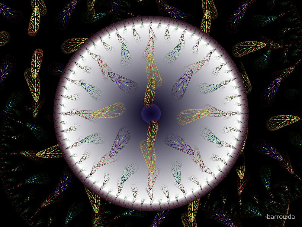 Apo Mandala #1: On Silver by barrowda