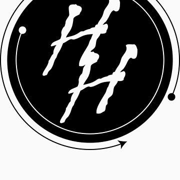 Hush Hater Circle H-Logo  by hushhater