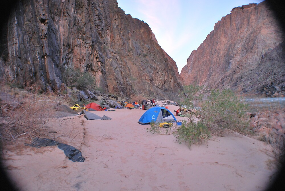 Camping in the Grand Canyon by dinahmite