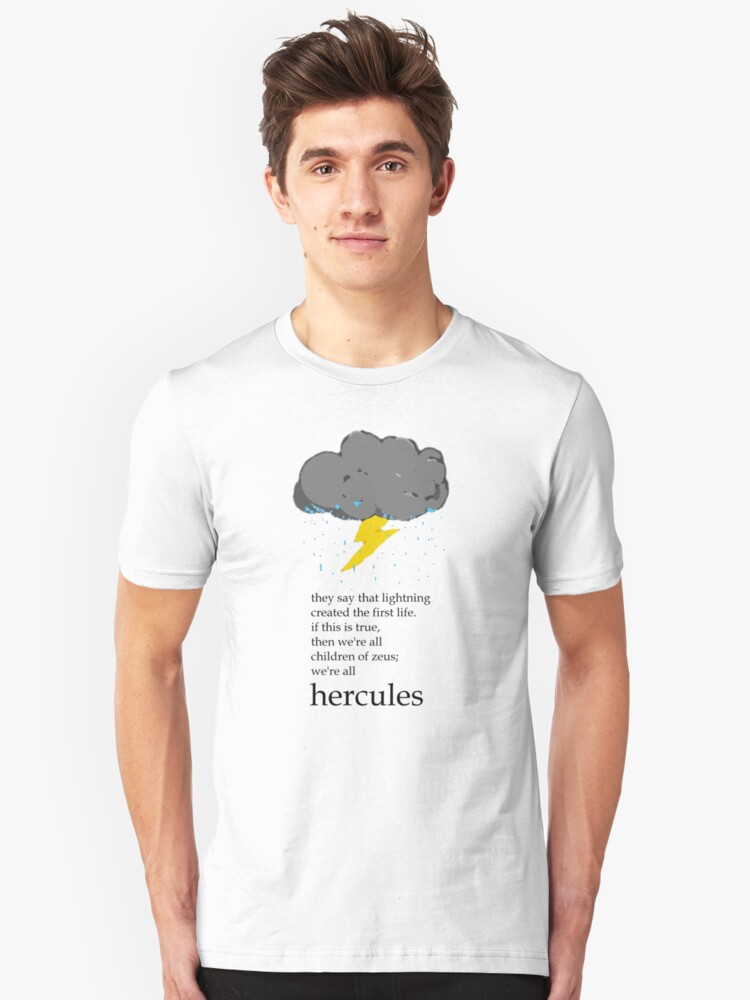 Cloudy With A Chance Of Hero Unisex T-Shirt Front