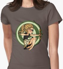 Felicity, where's my bow? Women's Fitted T-Shirt