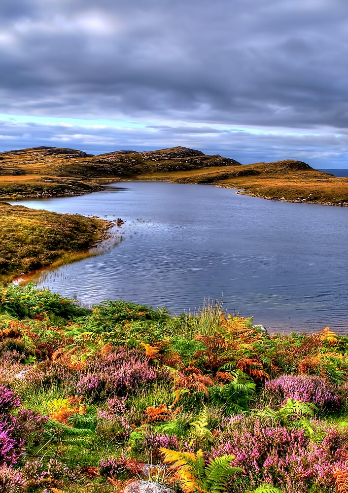 Loch Nan Eun by Stephen Smith