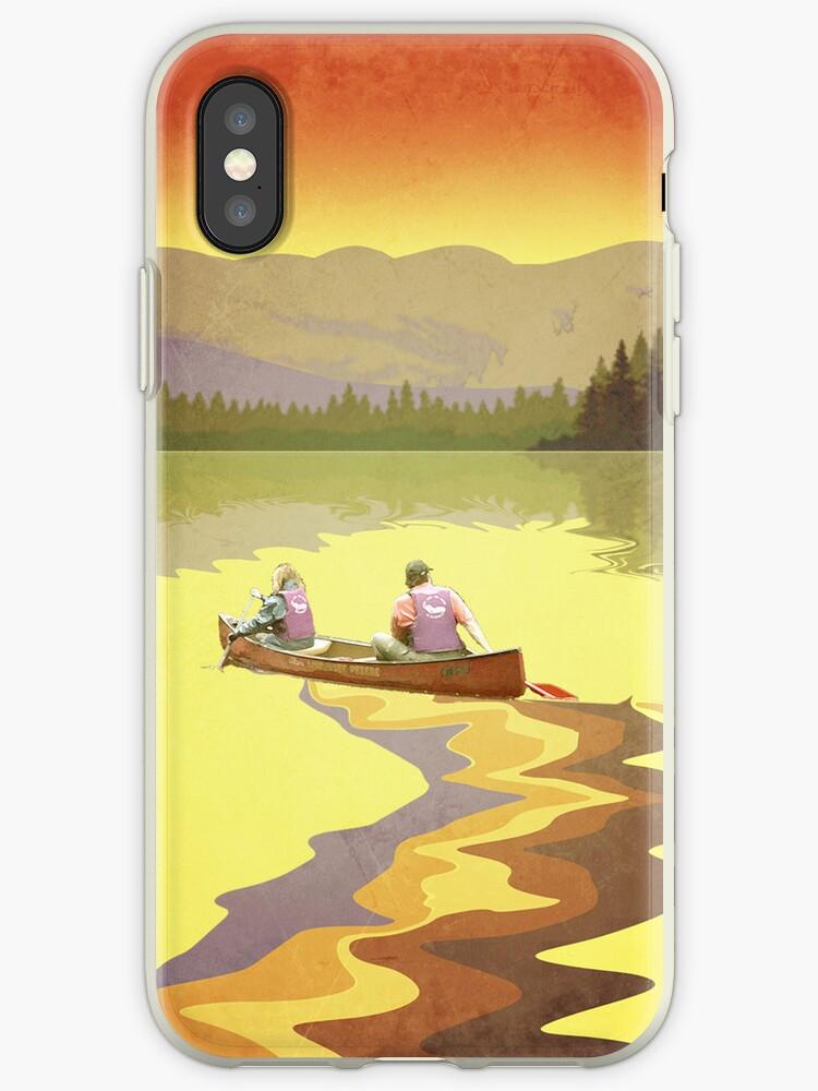 Phone case: Canoe Lesse by Steven House
