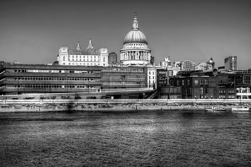 Views To St Pauls London by Stephen Smith