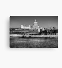 Views To St Pauls London Canvas Print