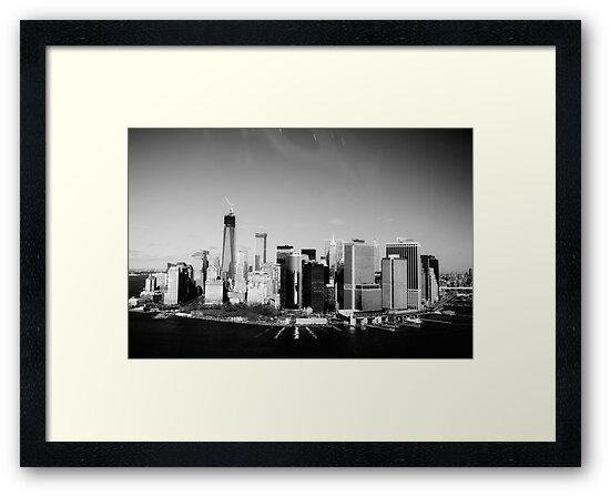 New York City Skyline by DebWinfield