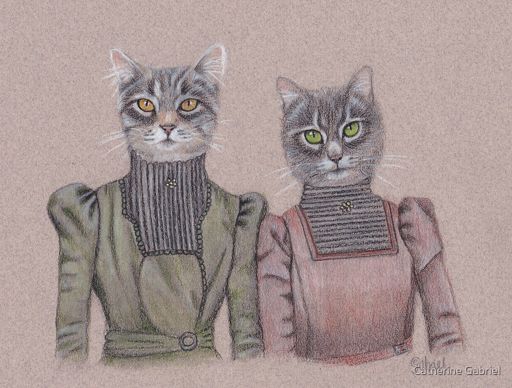 Lady Cats by Cat Gabriel