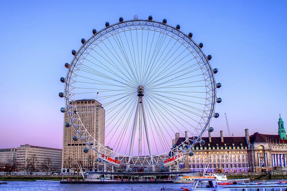 The London Eye, London by Stephen Smith