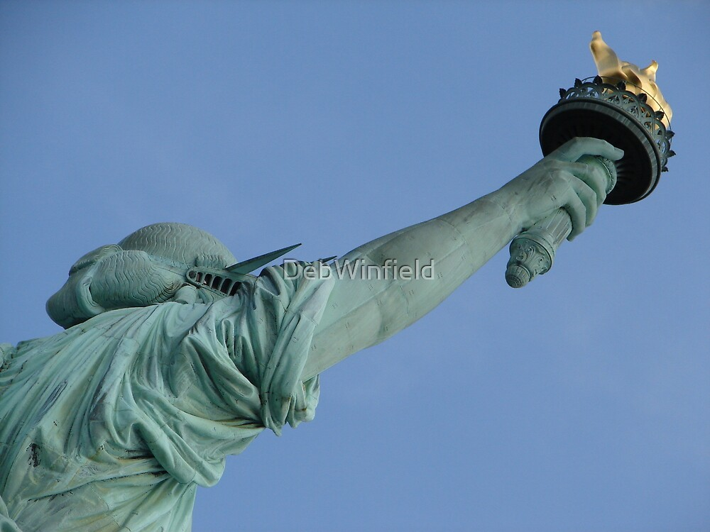 Statue of Liberty by DebWinfield