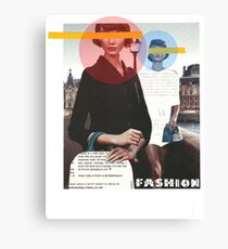 Fashion Collage Canvas Print