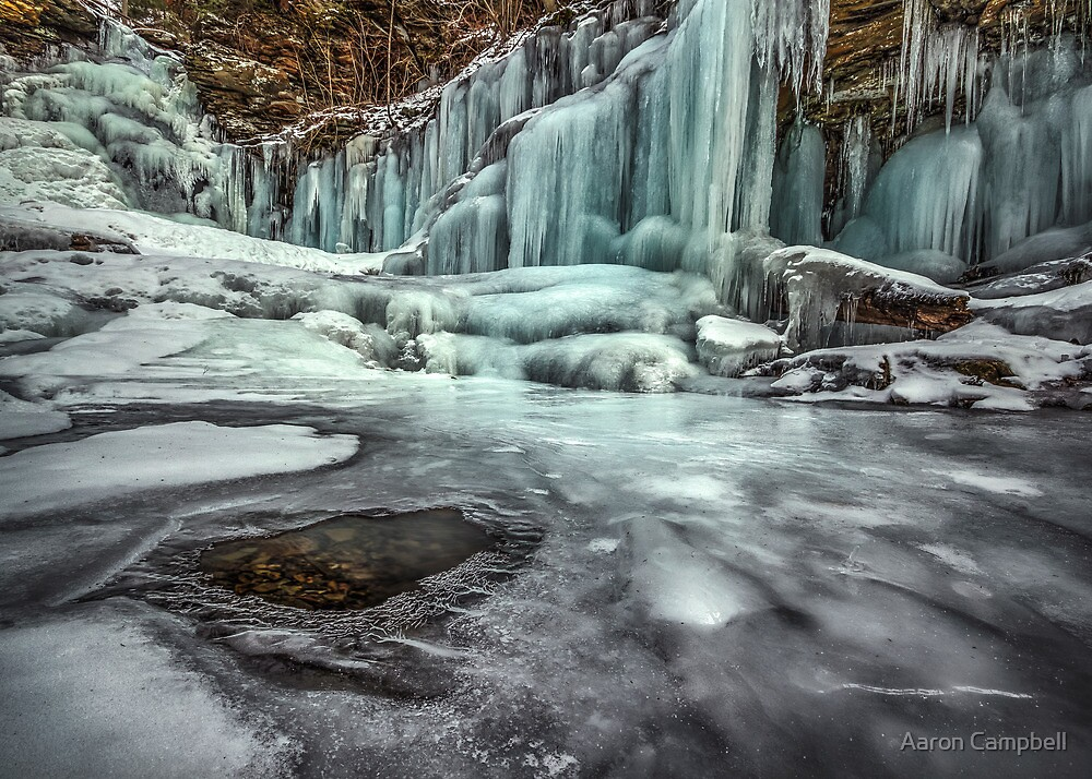 Opening in the Ice by Aaron Campbell