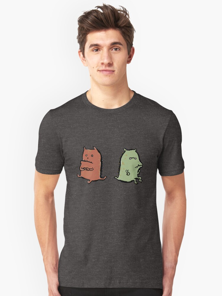 two dragons Unisex T-Shirt Front