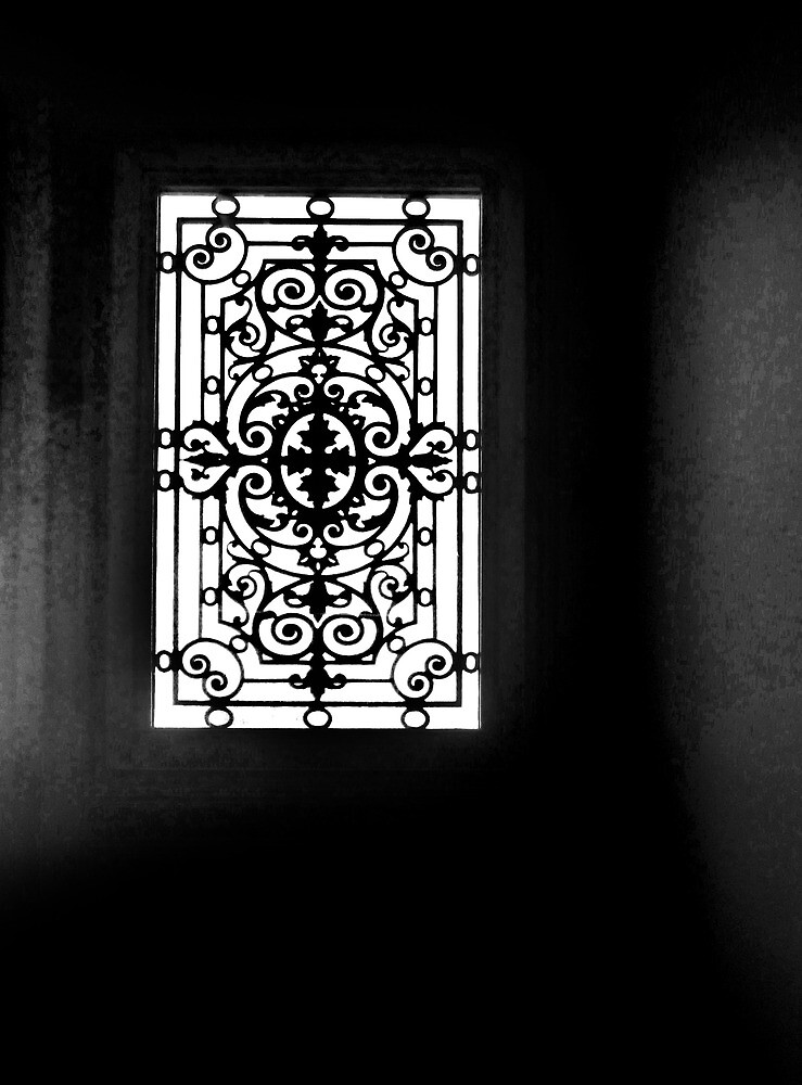 Wrought Window Work. by Paul Pasco