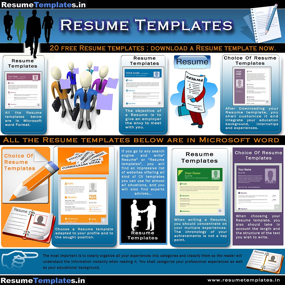 Resume Templates by resumetemplates