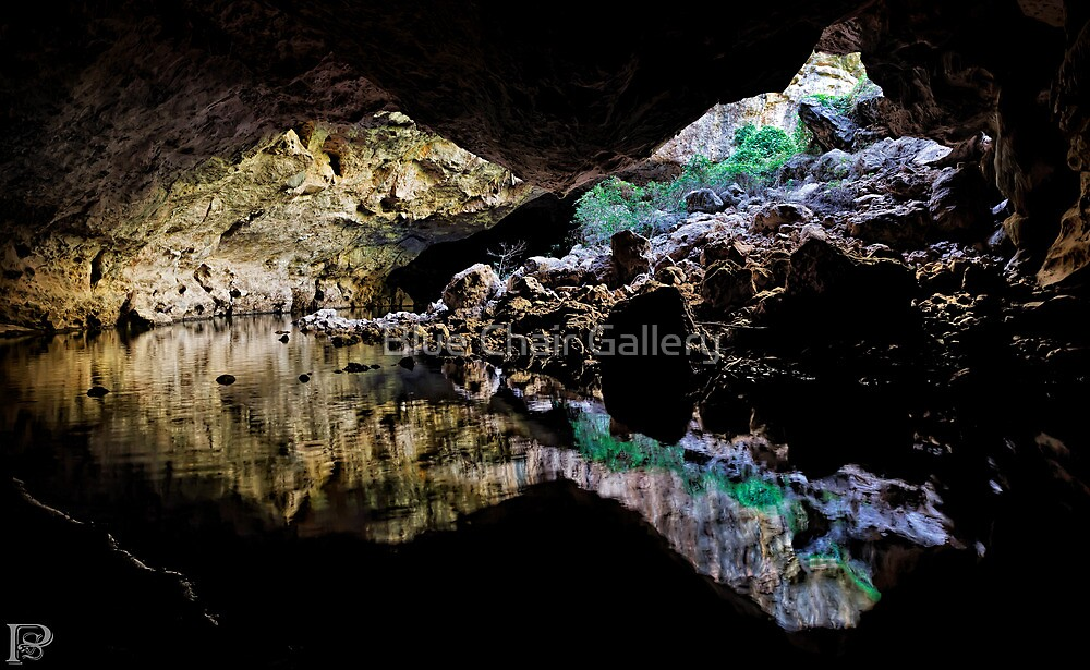 Tunnel Creek  by Blue Chair Gallery