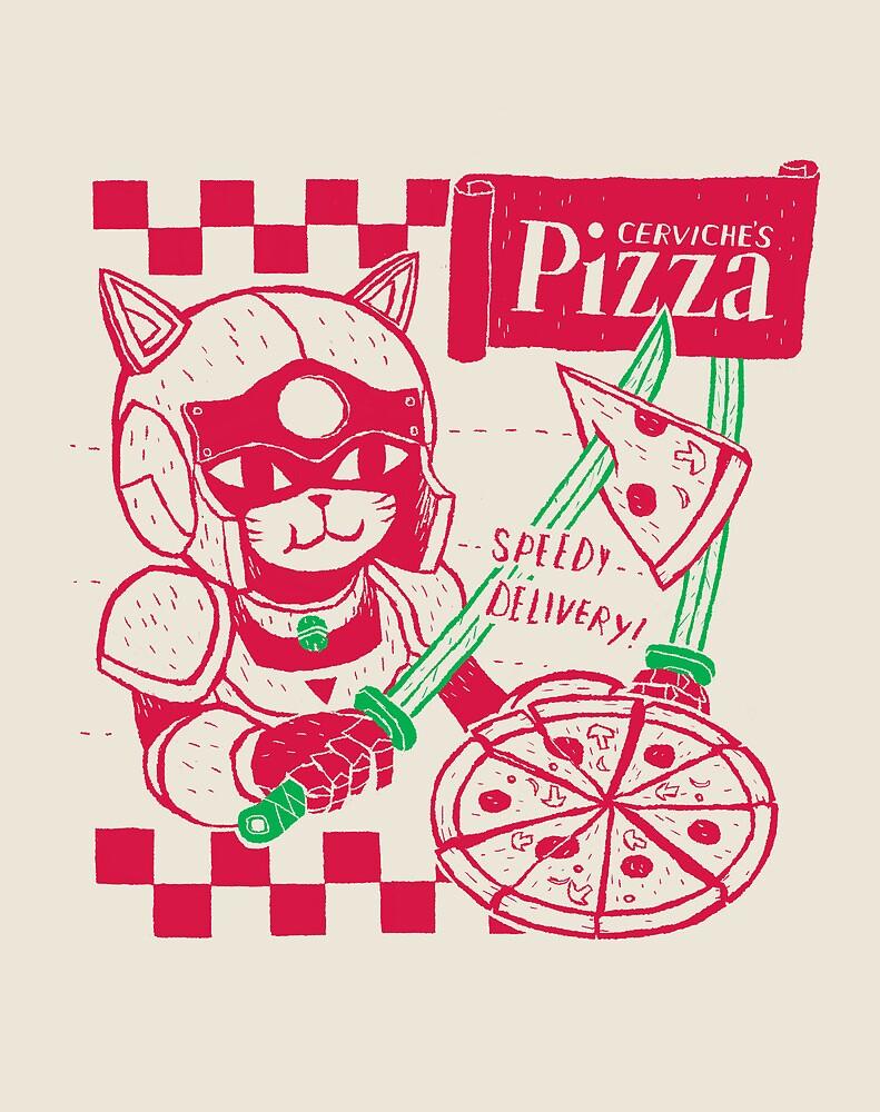 cerviche's pizza by louros