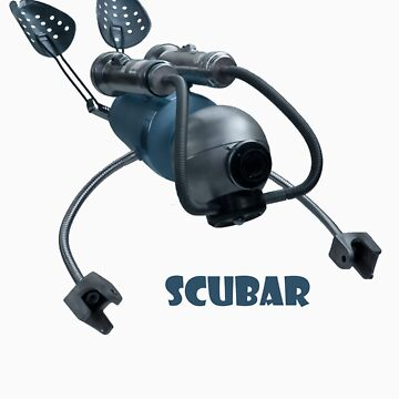Scubar - Self Contained Underwater Breathing Apparatus Robot by adoptabot