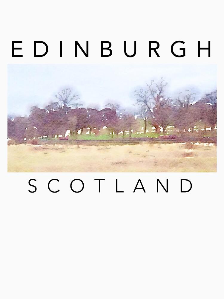 Edinburgh Scotland T-Shirt by ogcostanza