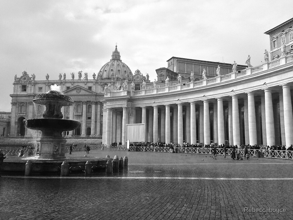 Vatican City  by Rebeccaboyce