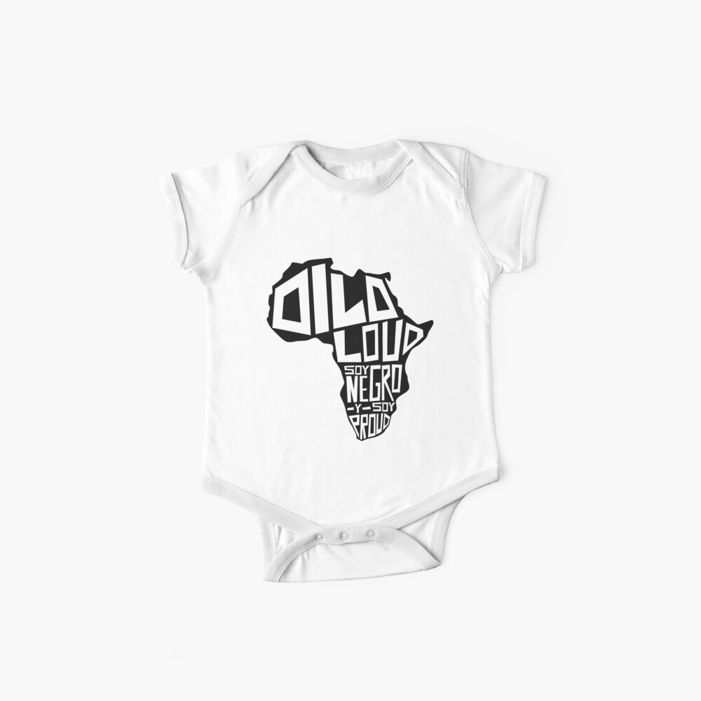 DILO LOUD: Africa Third Culture Series Baby One-Piece