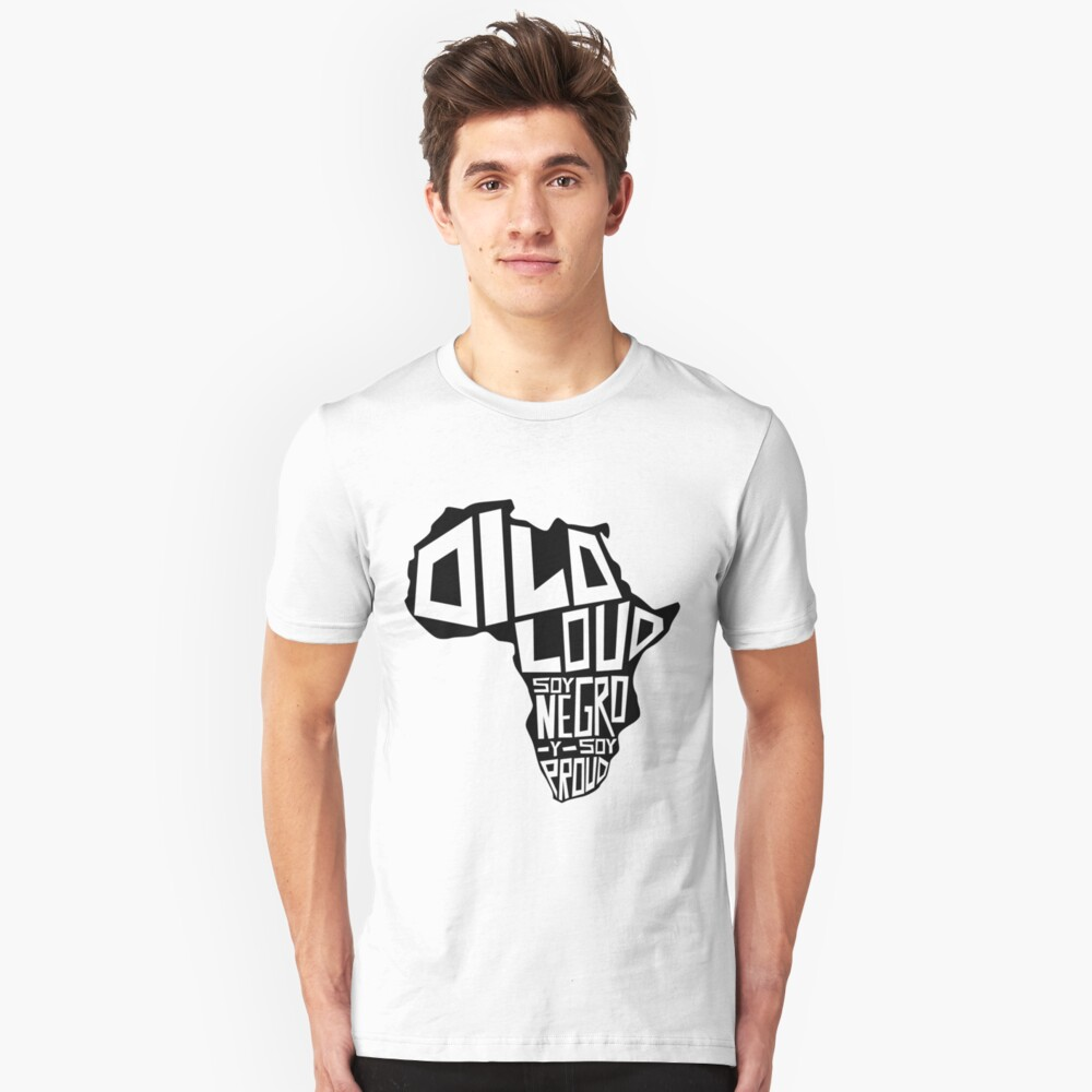 DILO LOUD: Africa Third Culture Series Slim Fit T-Shirt