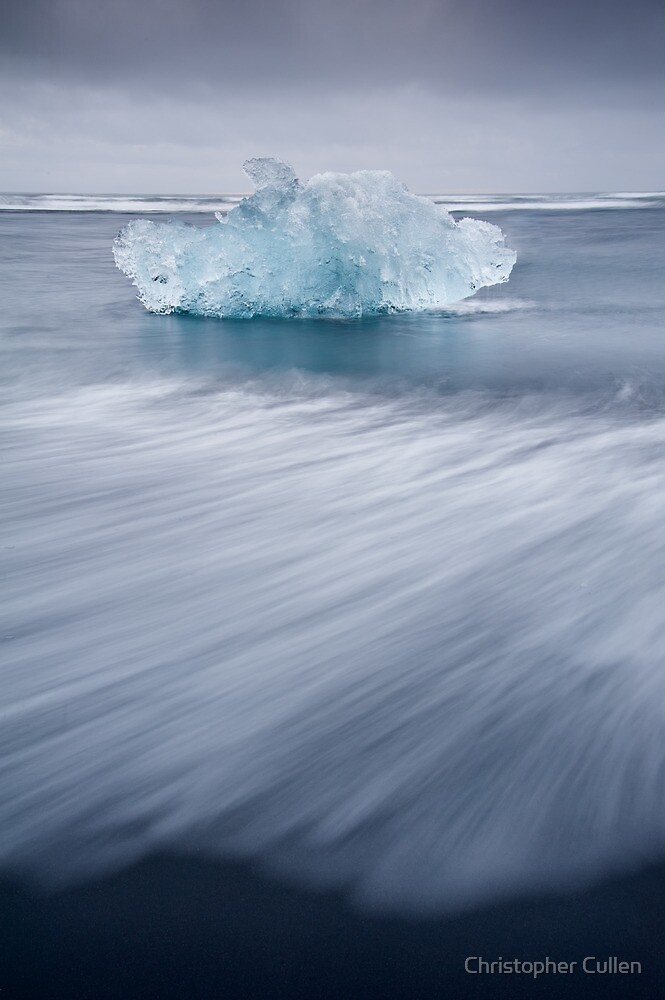 blue ice by Christopher Cullen