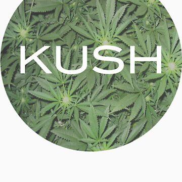Kush. T-Shirt Circle. by Greeney3rd