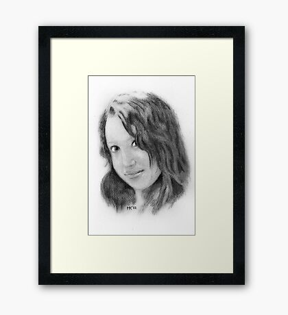 """""""Vindya"""" Framed Print"""