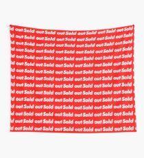 "Supreme ""Sold out"" Wall Tapestry"