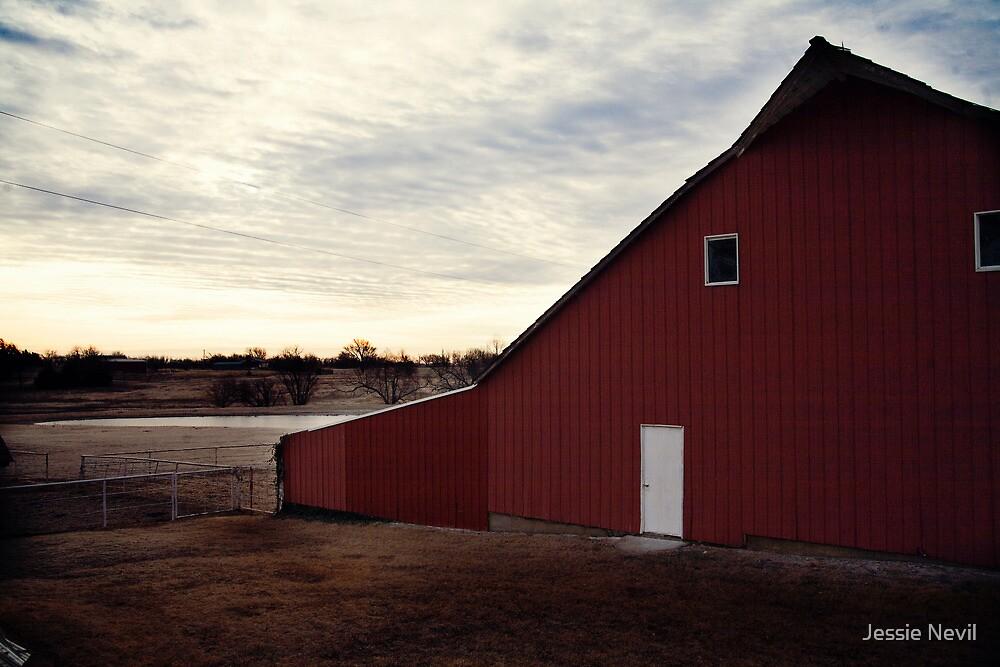 Barn Morning by Jessie Nevil