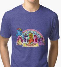 Vintage friendship is magic. Tri-blend T-Shirt