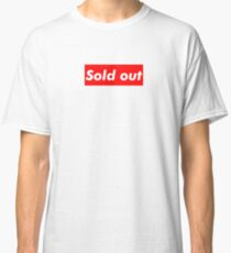 "Supreme ""Sold out"" Classic T-Shirt"