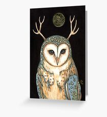 Owl Spirit Greeting Card
