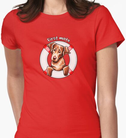Chesapeake Bay Retriever First Mate T-Shirt