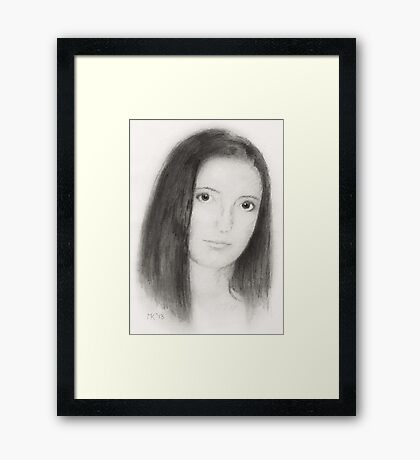 """Jasmin"" (without an ""e"") Framed Print"