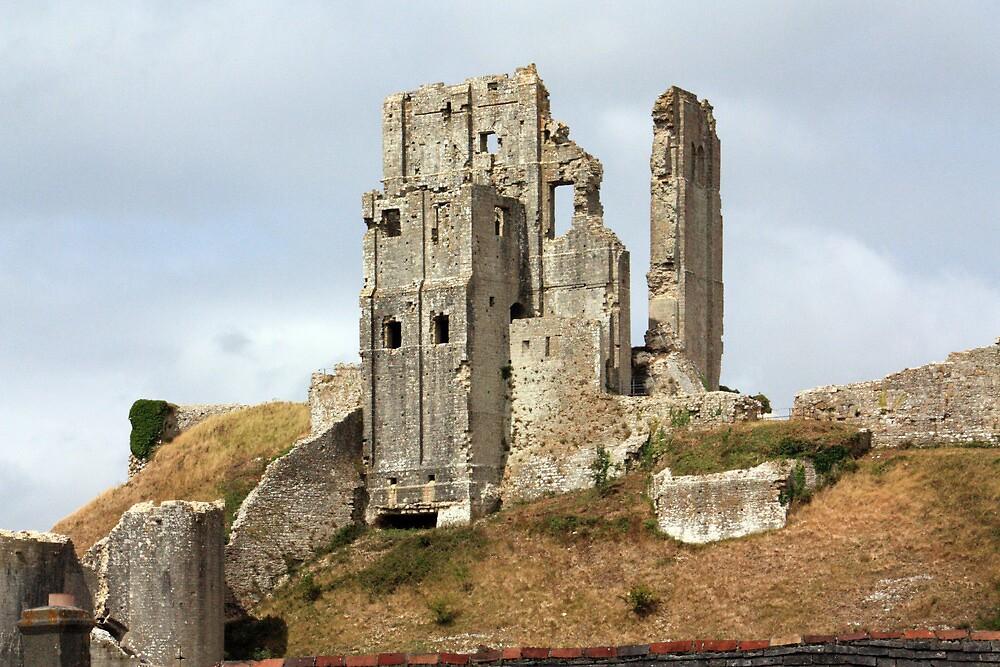 Corfe Castle by AmyNicPhoto