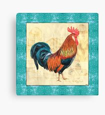 Tiffany Rooster 1 Canvas Print