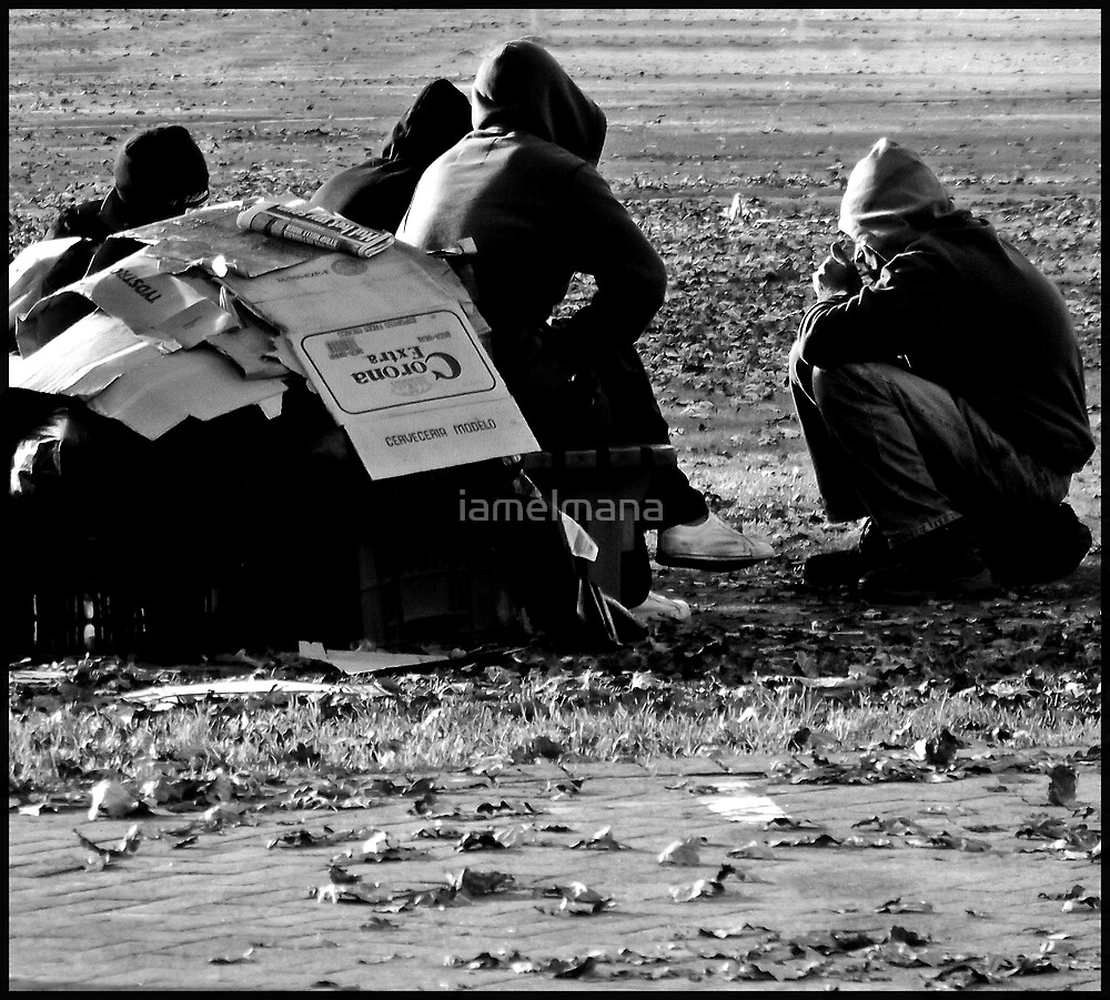 Winter on the street by iamelmana
